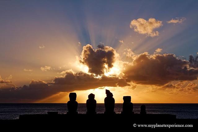 Ahu Vai Uri - Easter Island, Chile