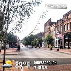 #weather #instaweather #instaweatherpro  #sky #outdoors #nature #world #jonesborough #unitedstates #day #summer #us
