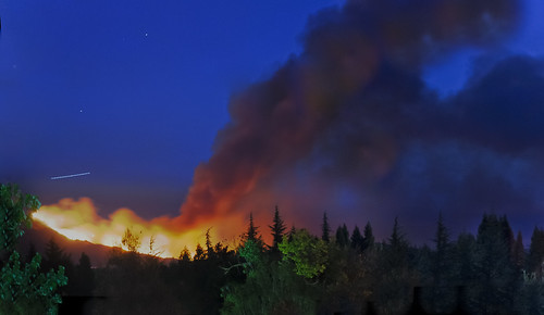 california park summer color sunrise fire nikon sanramon flames large panoramic september burning burn eastbay forestfire bluehour d200 mtdiablo northern predawn stitched slope lightstream 2013 morganhillfire mtdiablofire