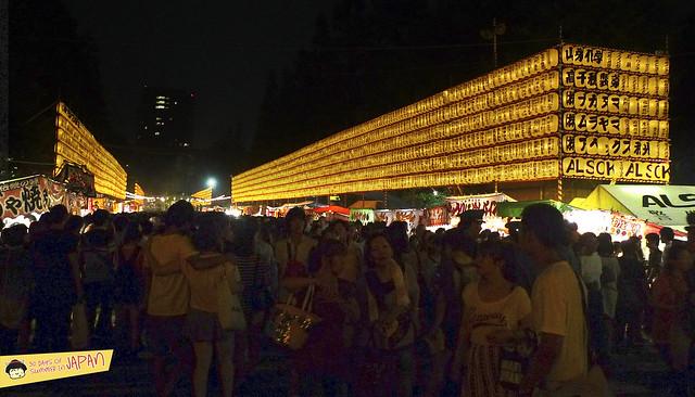 Mitama Matsuri 2013 - summer festival in Tokyo - food stalls