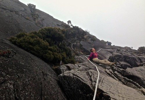 Lina in a meditative resting state