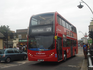 Stagecoach 10175 on Route 179, Ilford
