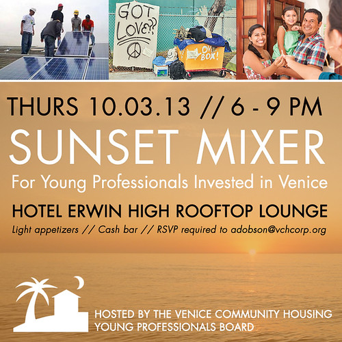 VCHC Young Professionals Board: Sunset Mixer 10.3.13