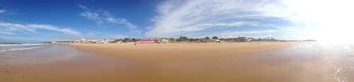 Carcavelos beach in Portugal. Copyright Evin O'Keeffe 2013