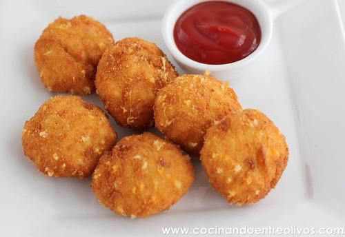 Nuggets de pollo y queso www.cocinandoentreolivos (16)