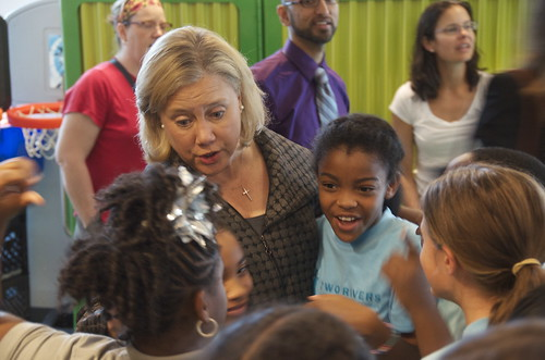 Senator Landrieu Visits Two Rivers!