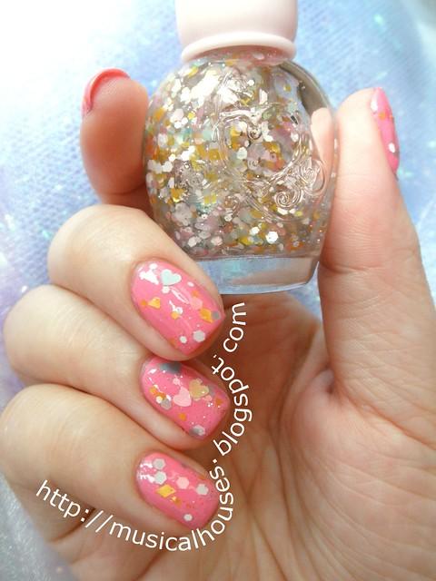 BCA manicure Illamasqua Loella Etude House WH901 2