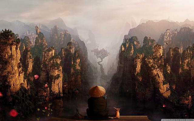 Mountains of China Full HD Desktop Wallpaper