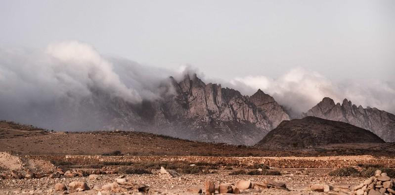 Coastal Mtns, Socotra Island