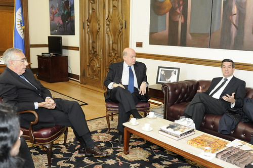 OAS Secretary General Met with the President of the University of La Rioja in Spain
