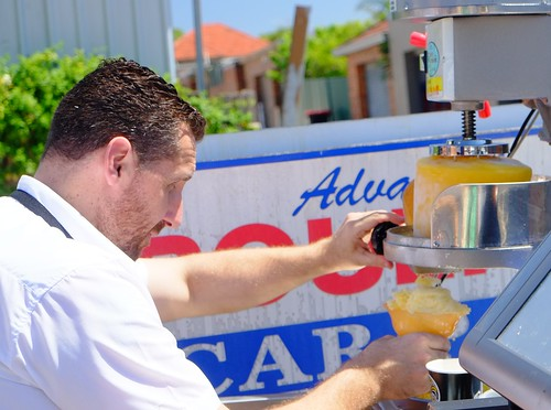 The art of mango raspados