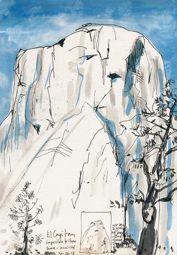 Oct 2013: Yosemite Trip - El Capitan by apple-pine