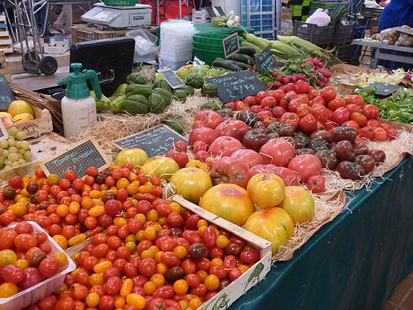 tomates de fin d'été