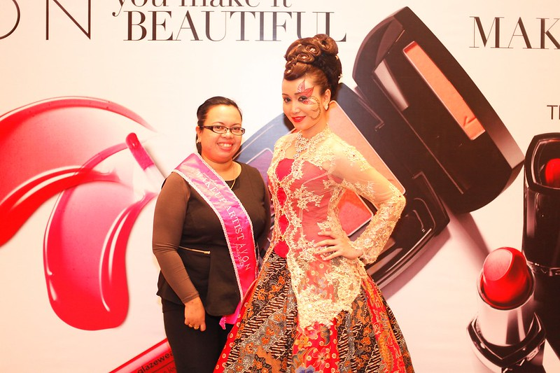 KHAIRIATUL AND HER MODEL.jpg