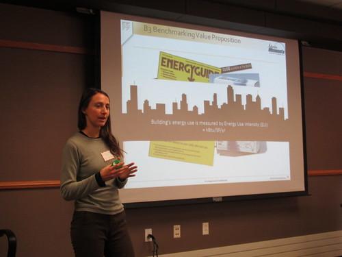 Katie Schmitt shows cities how to implement energy benchmarking