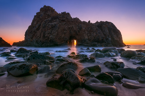 Arch Rock Sunset