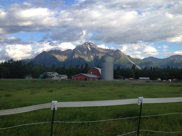 Butte Alaska Farm