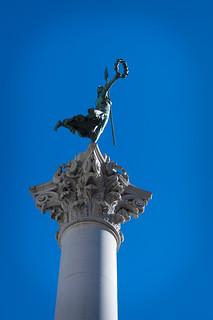 Dewey Monument görüntü.