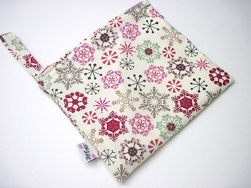 New Size Winter Snowflakes Wet Bag New Style