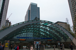 Station de métro Canary Wharf