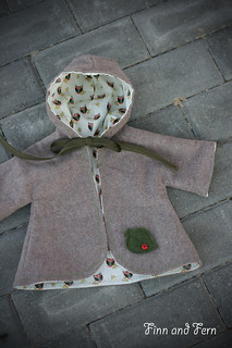 Flannel Doll Coat