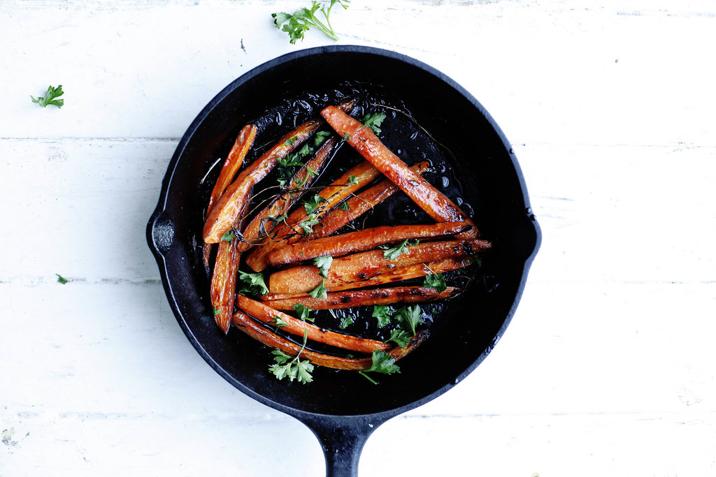 Roasted Carrots from Food52