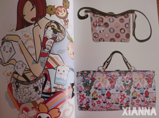 Urban Bags - tokidoki for LeSportsac