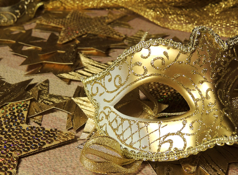 новогодние маски 2