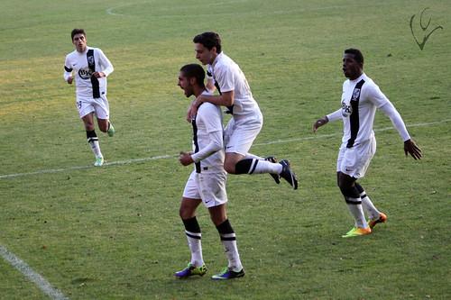 Vitória B 1 - 0 Oliveirense