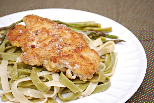 lemony chicken milanese