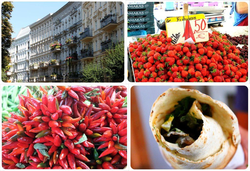 Berlin Kreuzberg and Maybachufer Market
