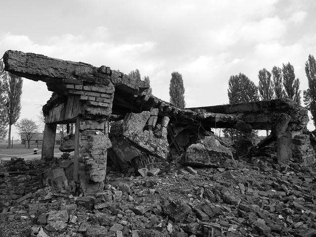 Gas chambers at Auschwitz II-Birkenau