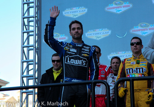 Introducing Jimmie Johnson- 6 Time Champion