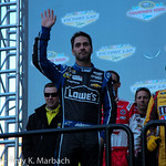 6 Time Champion Jimmie Johnson The Victory Lap