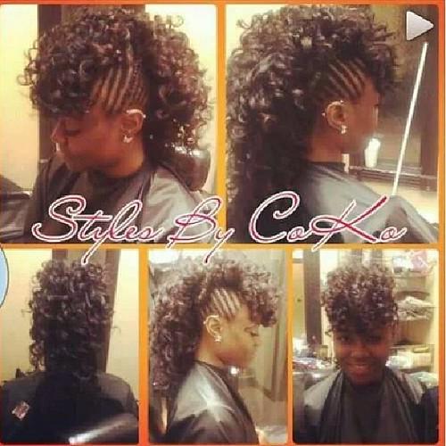 Half Sew In Weave   hairstylegalleries.com