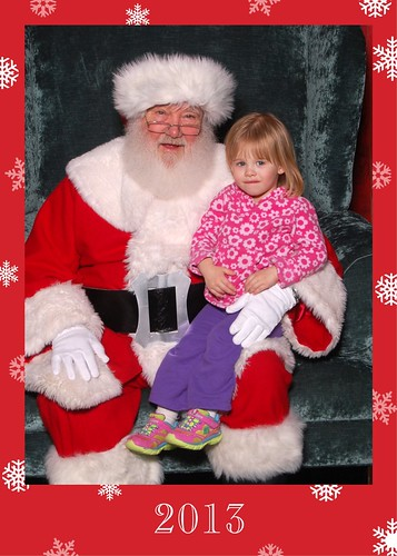 when Lucy met Santa