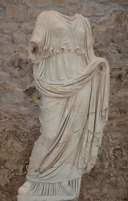 Statue of Livia, Archaeological museum Narona, Vid, Croatia