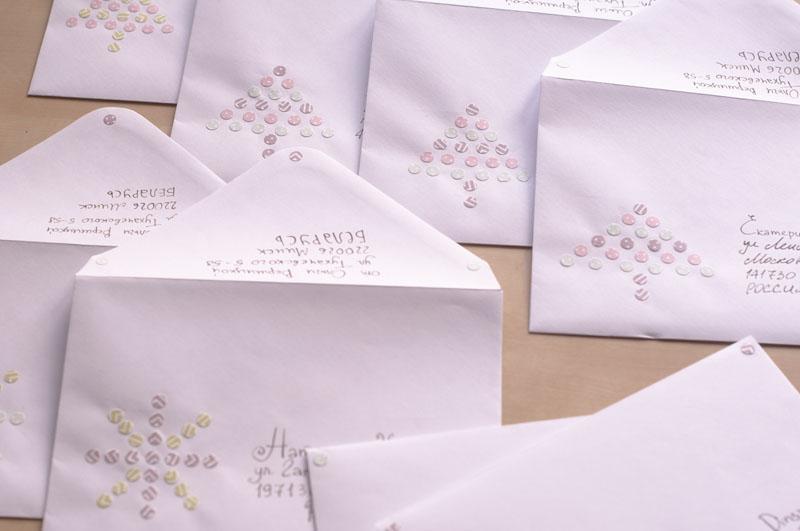 Envelops for Christmas cards
