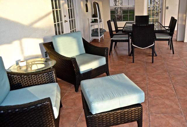 Van Der Valk Golf Resort. Inverness, Florida - outdoor patio