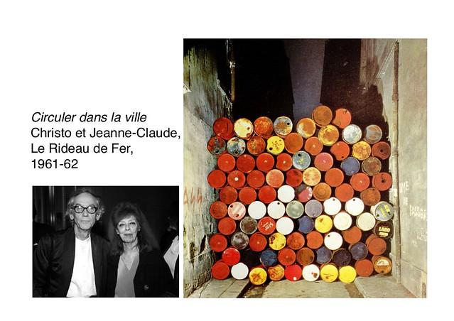 Christo et Jeanne-Claude, Le Rideau de Fer, 1961-62