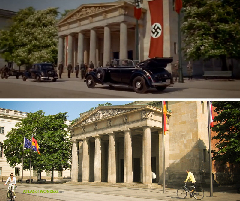 Monuments Men filming locations