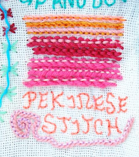 TAST #31 Pekinese Stitch