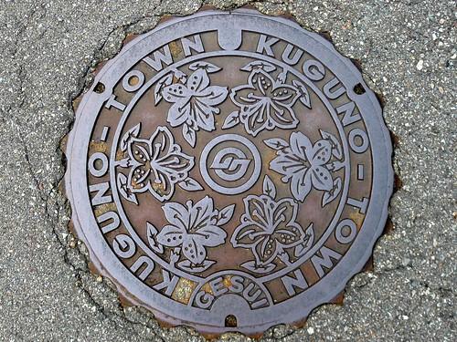 Kuguno Gifu, manhole cover (岐阜県久々野町のマンホール)