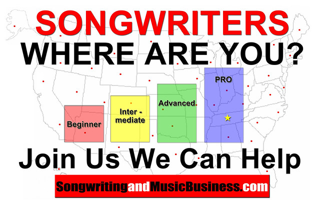 Songwriters Where Are You: Beginner, Intermediate, Advanced, Pro