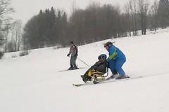 Malý sportovec bojuje s osudem i na lyžích
