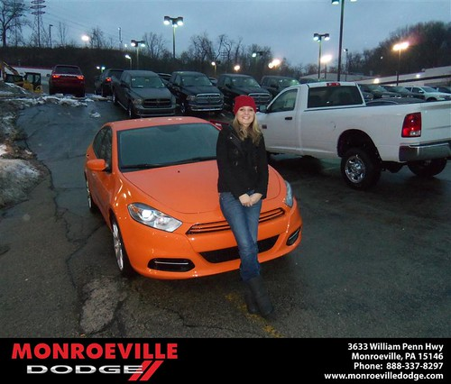 Happy Birthday to Karissa Ciera Dinger from Chad Carpenter  and everyone at Monroeville Dodge! #BDay by Monroeville Dodge