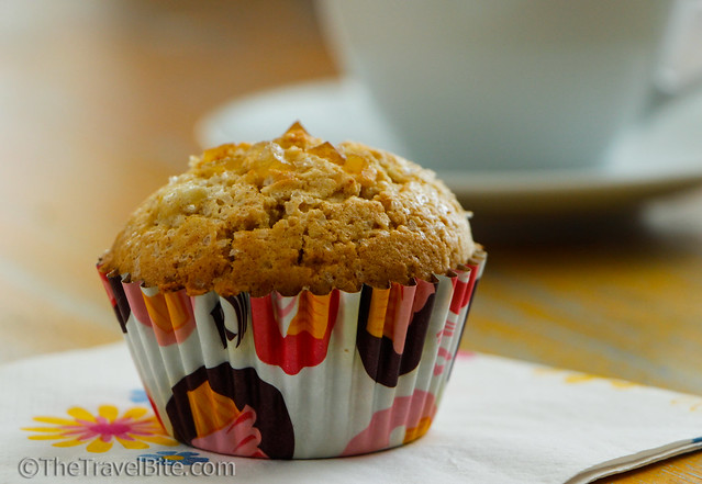 Gluten Free Ginger Pear Muffins-6