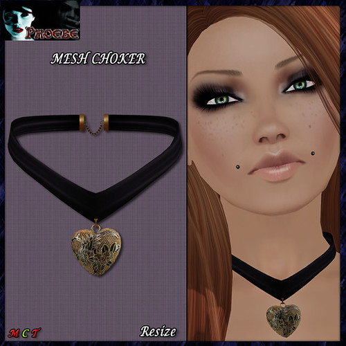 [NEW RELEASE ON SALE!] *P* MESH Chinese Heart Choker