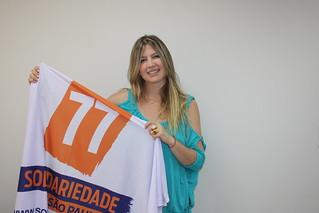 Andréia Gonçalves, de Taubaté, pré-candidata a deputada estadual