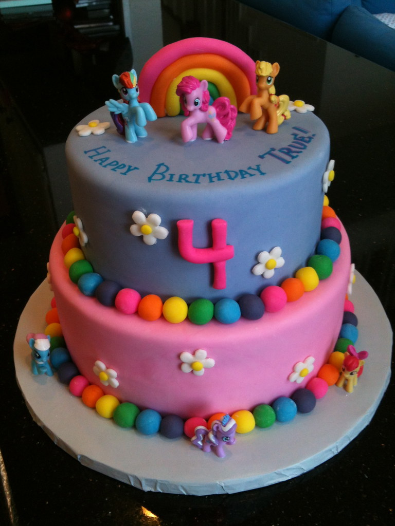 Birthday Cake For A 4 Year Old